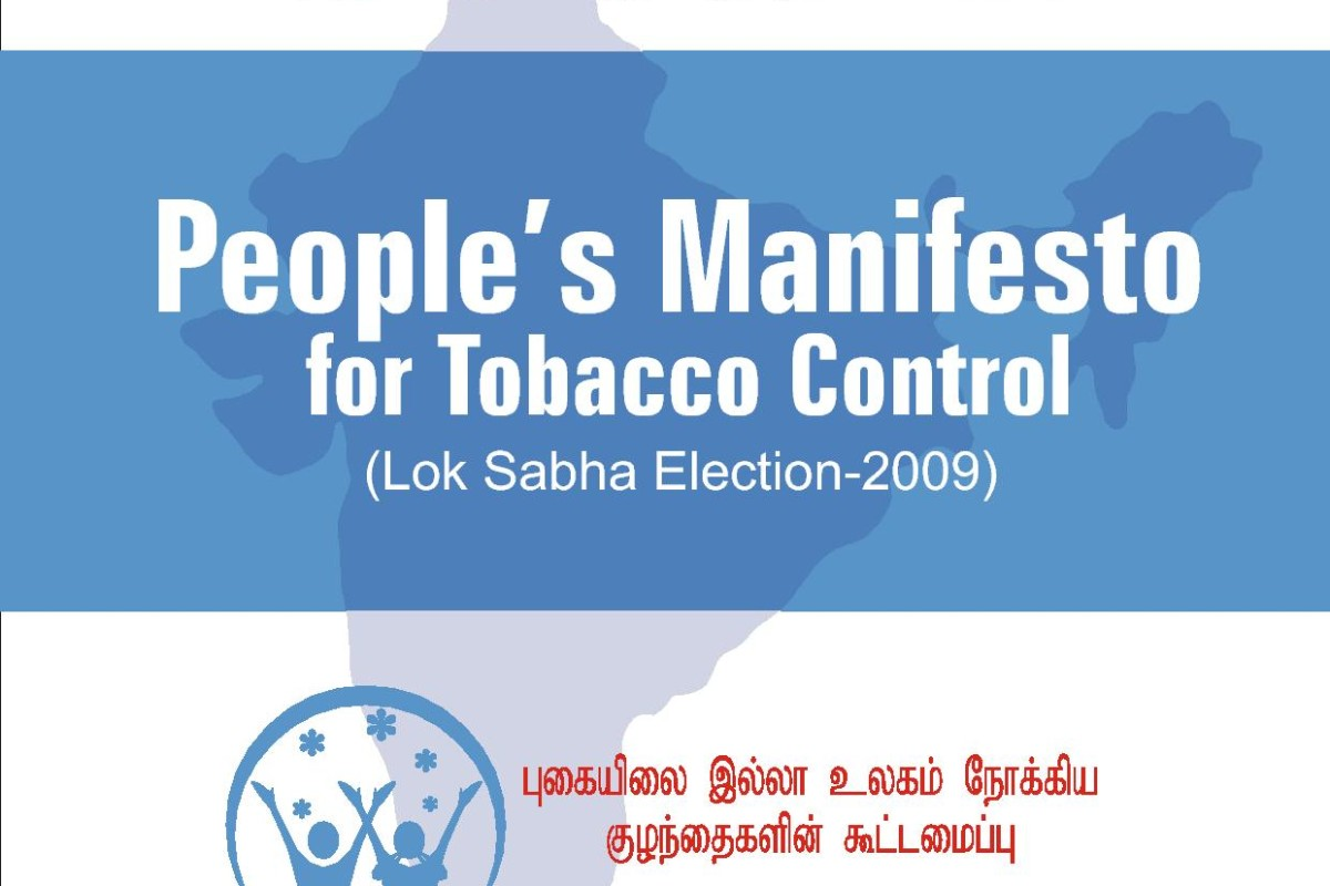 People's Manifesto for Tobacco Control